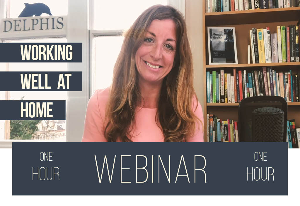 Working Well At Home Webinar Still